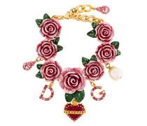 embellished rose bracelet