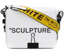 Sculpture flap bag