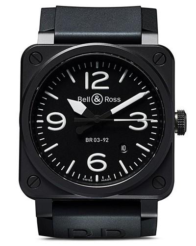 BR 03-92 Black Matte, 42mm