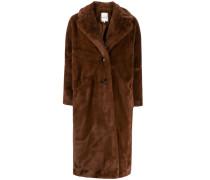 'Fibie' Faux-Fur-Mantel