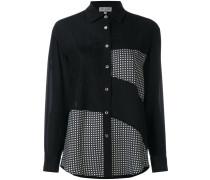 Seidenhemd im Patchwork-Stil - women