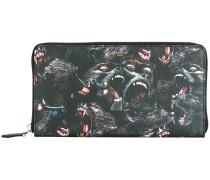 baboon print wallet