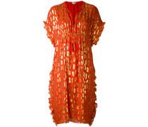 Ausgestelltes Kleid mit Print - women