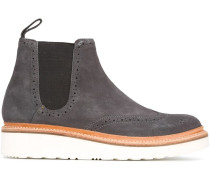 Chelsea-Boots mit Plateausohle