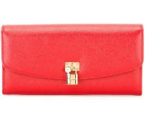 padlock detail wallet