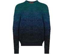 ombré-effect jumper