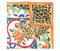 Majolica leopard print scarf