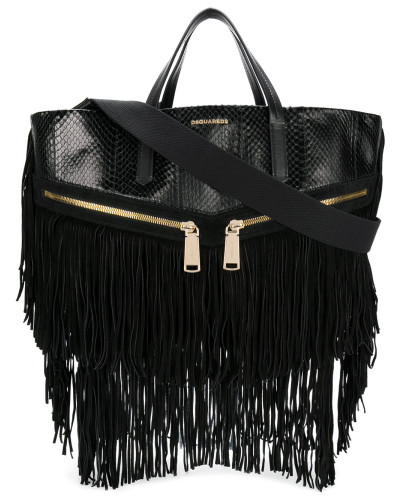 fringed Rock tote