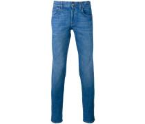 Jeans mit Webstreifen - men - Baumwolle/Elastan