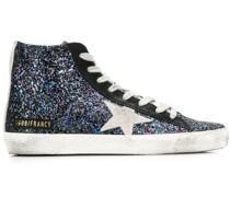 'Francy' Sneakers mit Glitter-Effekt