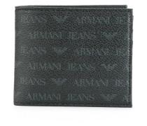 Jacquard-Portemonnaie mit Logo-Print - men