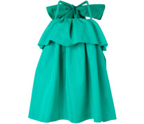 giant bow ruffle dress