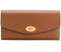 pebbled twist-lock purse