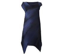 Plissiertes Kleid mit asymmetrischem Schnitt