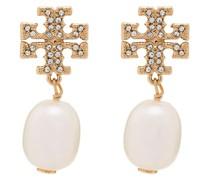 'Kira' Ohrringe mit Perlen