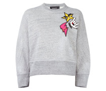 'Dean' Sweatshirt mit Patches