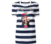 """T-Shirt mit """"Designer's""""-Patch"""