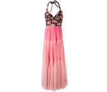 Kleid mit Flamingo-Print