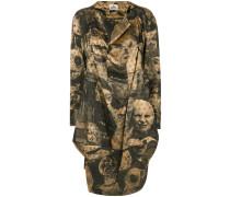 Weites Kleid mit Print