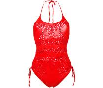 lace one-piece swimsuit - women