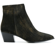 Cuban style ankle boots