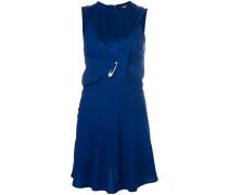 asymmetric safety pin dress