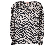 Hemd mit Zebra-Print
