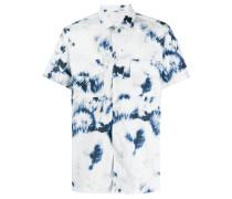 Hemd mit Bleached-Optik