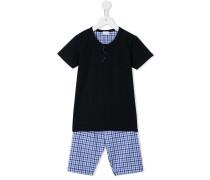 Pyjama mit Karomuster