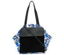 Geblümte Handtasche mit Vorderfach