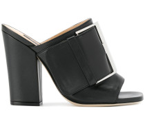 SR buckle mules