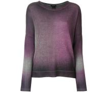 Kaschmir-Pullover mit Farbverlauf