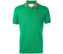 - Poloshirt mit Tigerstickerei - men