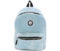 shearling backpack