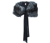 'Runway' furred collar