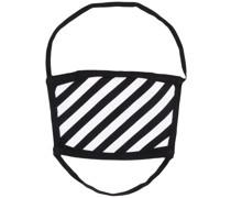Mundschutz mit diagonalen Pfeilen