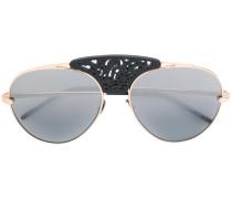 Sonnenbrille mit verziertem Steg