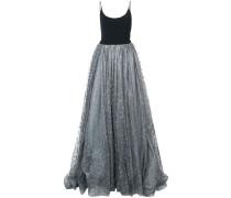 Kleid mit Glitzerapplikationen
