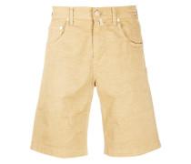 Karierte 'Comfort Fit' Chino-Shorts