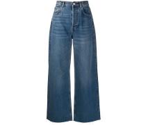 'Charley' Jeans mit weitem Bein