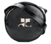 round logo cross-body bag