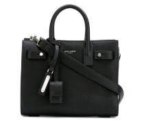 - Handtasche mit Logo-Stempel - women - Leder