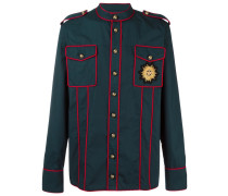 Hemd im Military-Look