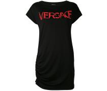 T-Shirtkleid mit Logo-Print - women