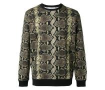 Sweatshirt mit Schlangenleder-Print - men