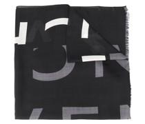 Schal mit unterbrochenem Logo