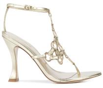 'Athena' Sandalen mit Kettendetail