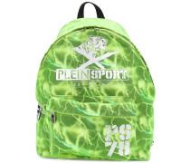 lightning printed backpack