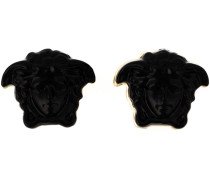 Ohrringe mit Medusa-Applikation