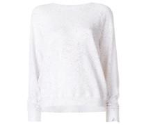 Sweatshirt mit gesprenkeltem Muster